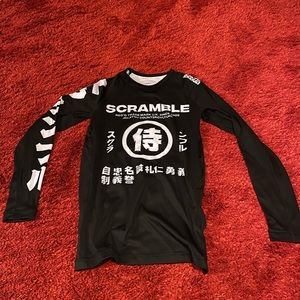 Scramble shadows V2 rash guard